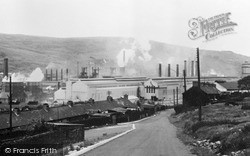 Waunlwyd, The Steel Works c.1960