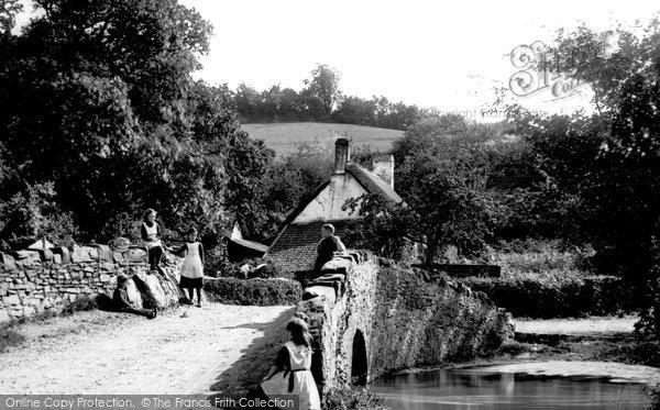 Weare Giffard, Bridge 1890