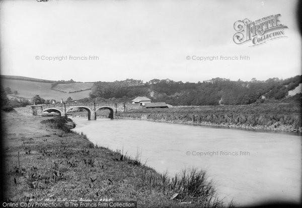 Weare Giffard, Halfpenny Bridge 1890