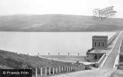 Wearhead, Reservoir And Power House c.1955