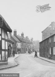 Weaverham, High Street c.1955