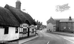 Weaverham, Northwich Road c.1965