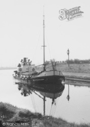 Weaverham, Ship On The Canal c.1960