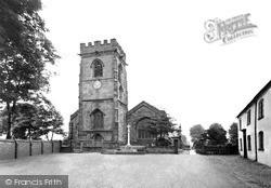 Weaverham, St Mary's Church c.1955