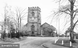 Weaverham, St Mary's Church c.1960