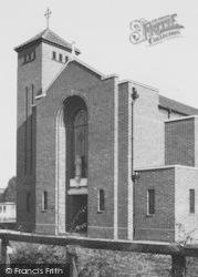 Weaverham, The Catholic Church c.1960