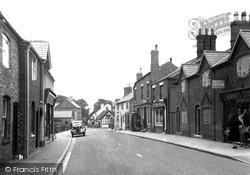 Weaverham, The Village c.1955