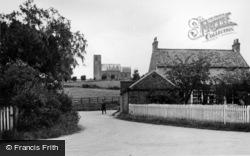 Church And Village c.1955, Weaverthorpe