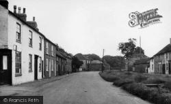 Road Through Village c.1955, Weaverthorpe
