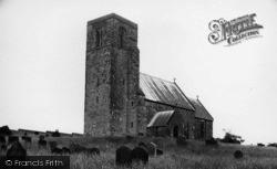 The Church c.1955, Weaverthorpe
