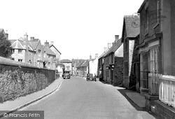 Wedmore, Church Street 1950