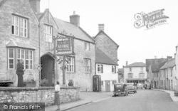Wedmore, Church Street c.1950