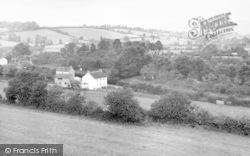 Wedmore, General View c.1950