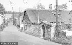 Wedmore, Glanville Street c.1955