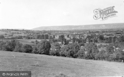Wedmore, Mendip Hills c.1950