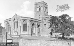 Wedmore, St Mary's Church And War Memorial c.1950