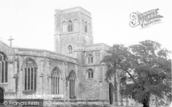 Wedmore, The Church c.1955