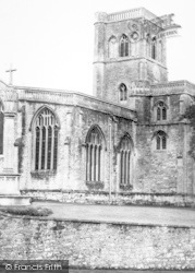 Wedmore, The Church c.1960
