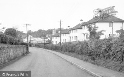 Wedmore, The New Houses c.1950