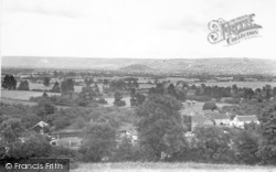 Wedmore, View From Mudgley Road c.1950