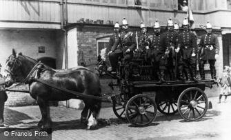 Wednesbury, Volunteer Fire Brigade 1892