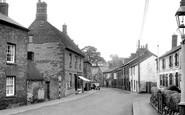 Weedon, the Village c1955