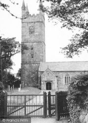 Week St Mary, The Church 1951
