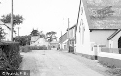 Week St Mary, The Village 1951
