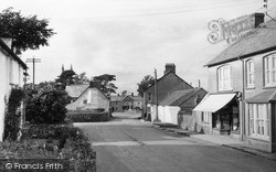 Week St Mary, The Village From The Post Office 1951
