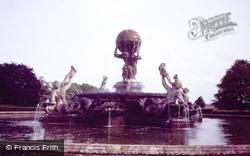 Welburn, Castle Howard, The Fountain c.1980