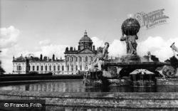 The Fountain, Castle Howard c.1965, Welburn