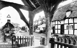 Welford On Avon, Church Street From The Lychgate c.1960