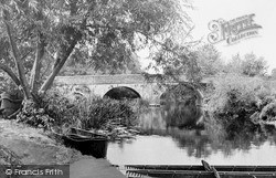 Welford On Avon, The Bridge And River Avon c.1960