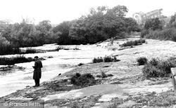 Welford On Avon, The Weir c.1960