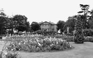 Welling, Danson Park, Mansion Garden c.1950
