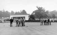 Welling, Danson Park, The Bowling Green c.1955