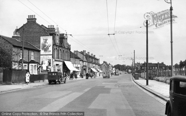 Photo of Welling, Park View Road c.1950