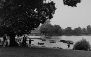 Welling, The Lake, Danson Park c.1955