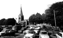Wellingborough, All Hallows Church c.1965
