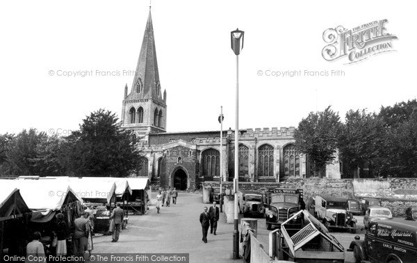 Photo of Wellingborough, All Hallows Parish Church 1954