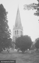 Wellingborough, All Hallows Parish Church c.1955
