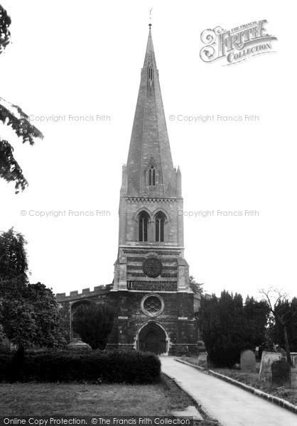 Photo of Wellingborough, All Hallows Parish Church c.1955