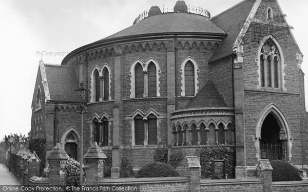 Photo of Wellingborough, Congregational Church c.1955