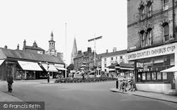 Wellingborough, Market Street 1954