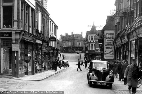 Photo of Wellingborough, Market Street c.1950