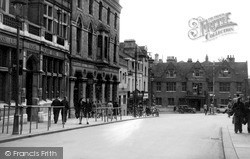 Wellingborough, Market Street c.1950