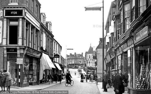 Wellingborough, Market Street c.1955
