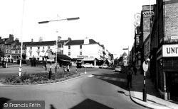 Wellingborough, Market Street c.1960