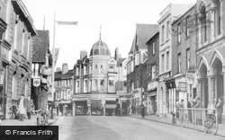 Wellingborough, Market Street c.1960