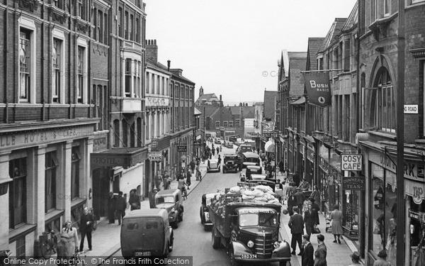 Wellingborough, Midland Road 1949